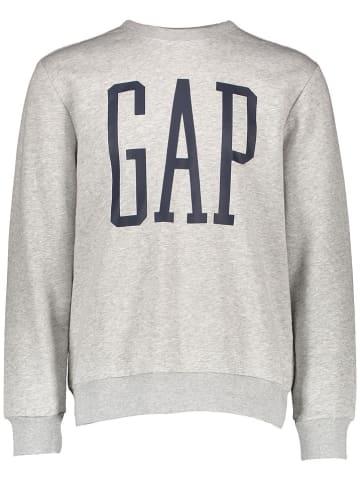 GAP Sweatshirt in Hellgrau