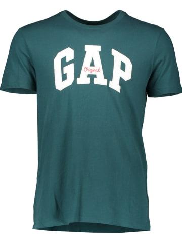 GAP Koszulka w kolorze zielonym
