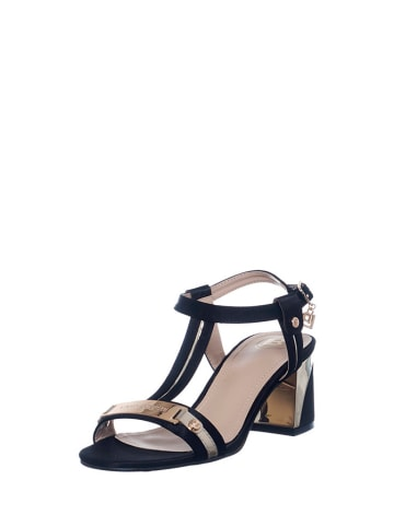 Laura Biagiotti Sandały w kolorze czarnym