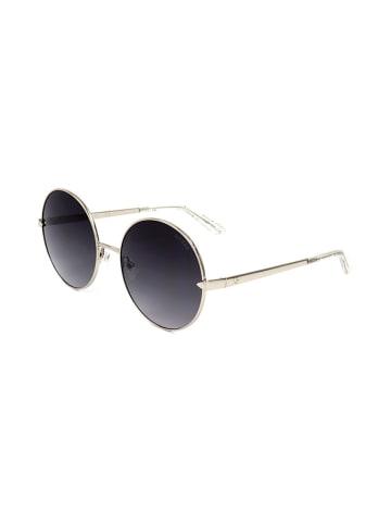 """Guess Okulary przeciwsłoneczne """"GU7614"""" w kolorze srebrno-czarnym"""