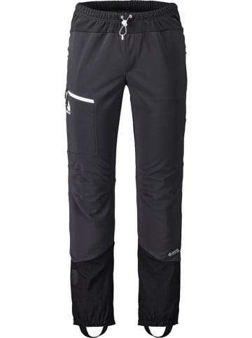"""Maloja Spodnie narciarskie """"Mountaineering"""" w kolorze czarnym"""