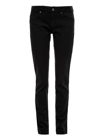 S. Oliver Dżinsy - Slim fit - w kolorze czarnym
