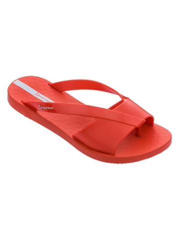 """Ipanema Klapki """"Elis"""" w kolorze czerwonym"""