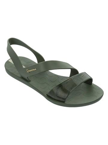 """Ipanema Sandały """"Vibe Sandal"""" w kolorze zielonym"""