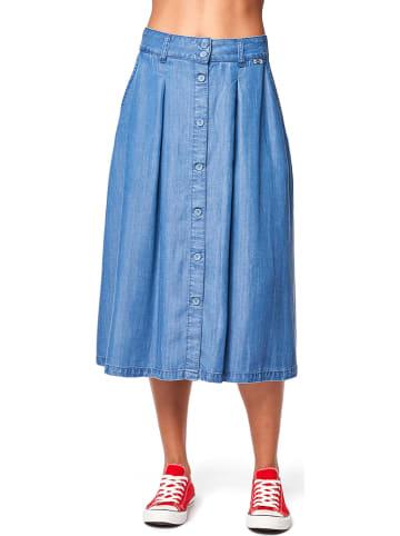 Lee Cooper Spódnica dżinsowa w kolorze niebieskim