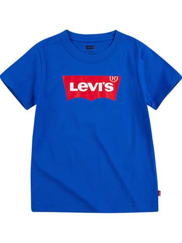 Levi's Kids Koszulka w kolorze niebieskim