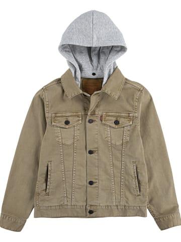 Levi's Kids Kurtka dżinsowa w kolorze khaki