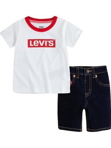 Levi's Kids 2-częściowy zestaw w kolorze biało-czarnym