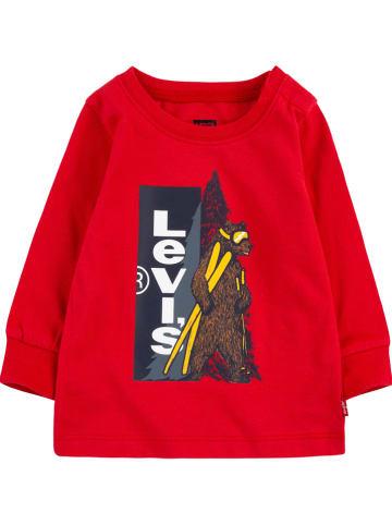 Levi's Kids Koszulka w kolorze czerwonym