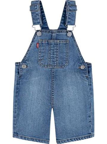 Levi's Kids Ogrodniczki dżinsowe w kolorze niebieskim