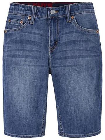Levi's Kids Szorty dżinsowe w kolorze granatowym