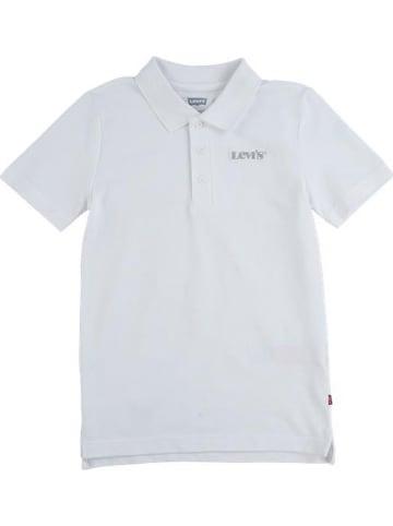 Levi's Kids Poloshirt in Weiß