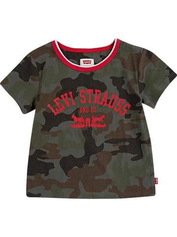 Levi's Kids Koszulka w kolorze khaki