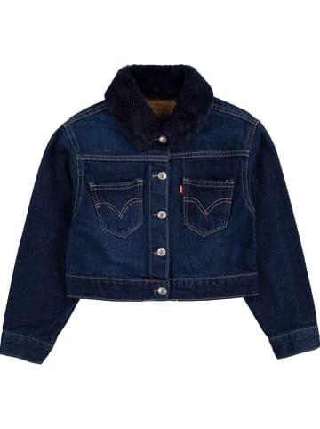 Levi's Kids Kurtka dżinsowa w kolorze niebieskim