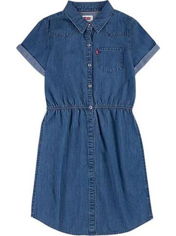 Levi's Kids Sukienka dżinsowa w kolorze niebieskim