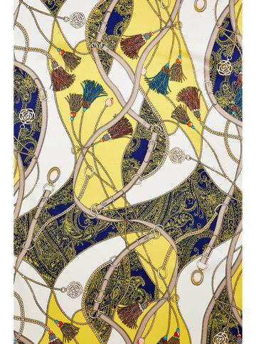 PATRIZIA ARYTON Jedwabny szal ze wzorem - (D)170 x (S)53 cm