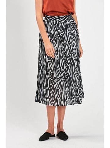 PATRIZIA ARYTON Spódnica w kolorze biało-czarnym