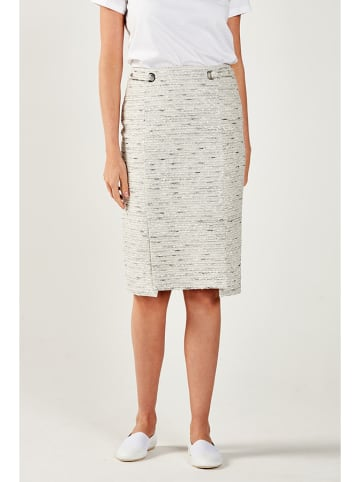 PATRIZIA ARYTON Spódnica w kolorze kremowym