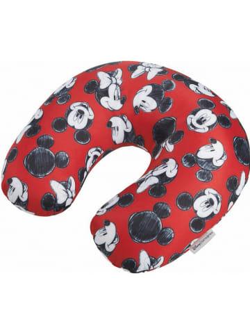 """Samsonite Poduszka-zagłówek """"Minnie"""" w kolorze czerwonym - 32 x 29 cm"""
