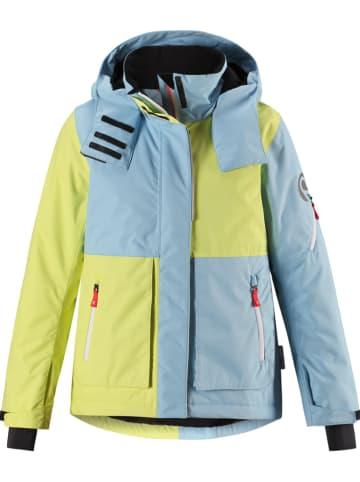 "Reima Ski-/ Snowboardjacke ""Katmai"" in Hellblau/ Gelb"