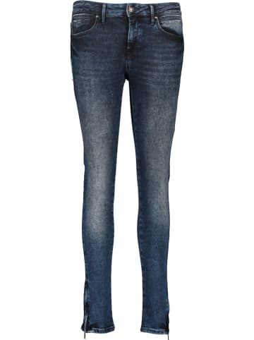 """MAVI Spijkerbroek """"Adriana Zip"""" - super skinny fit - donkerblauw"""