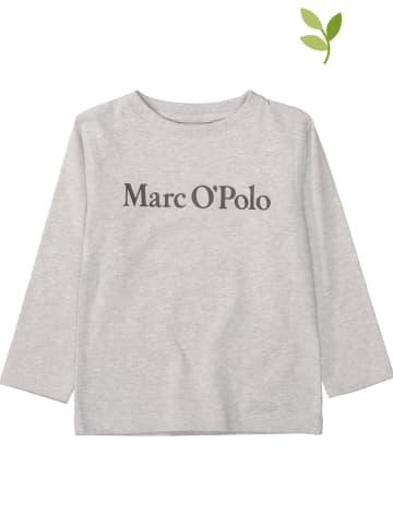 Marc O'Polo Junior Koszulka w kolorze szarym