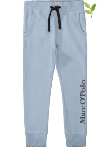Marc O'Polo Junior Spodnie dresowe w kolorze błękitnym