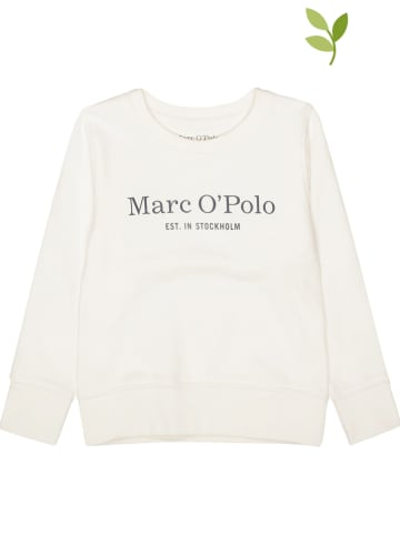 Marc O'Polo Junior Bluza w kolorze kremowym