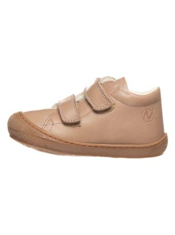 "Naturino Leder-Sneakers ""Coco"" in Beige"