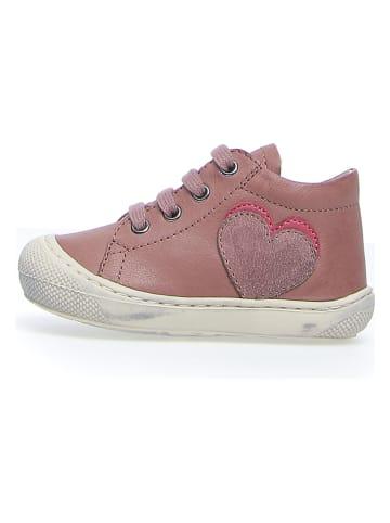 "Naturino Leder-Sneakers ""Pint"" in Rosa"