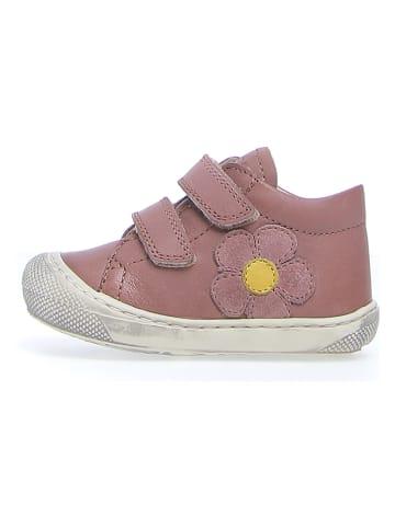 """Naturino Leder-Sneakers """"Bambo"""" in Rosa"""