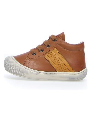 "Naturino Leder-Sneakers ""Tail"" in Hellbraun"
