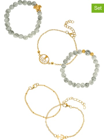 Heidemann 5-delige set: armbanden