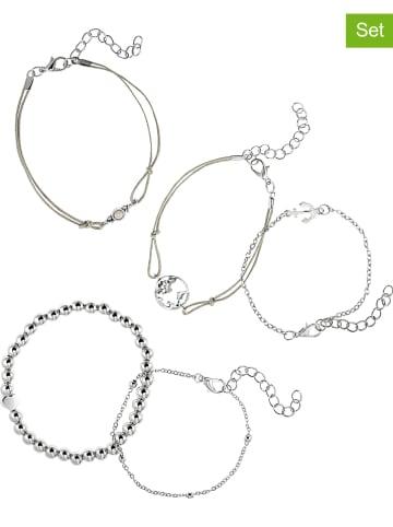 Heidemann 5er-Set: Armbänder