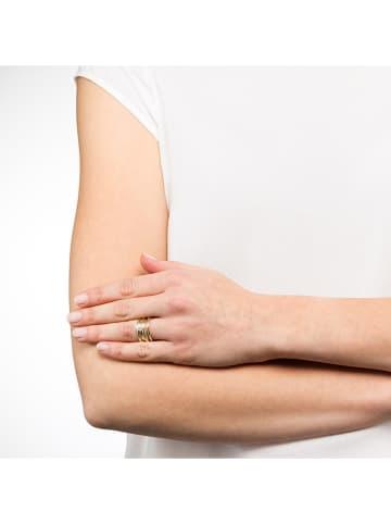 Heidemann Vergulde ring met parel