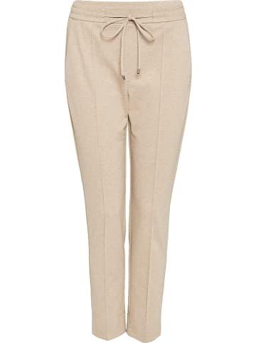 """Someday Spodnie dresowe """"Melvy"""" w kolorze beżowym"""