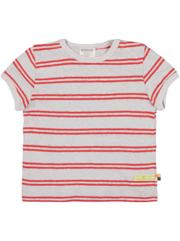 Loud + proud Koszulka w kolorze czerwono-szarym
