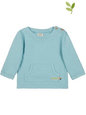Loud + proud Bluza w kolorze błękitnym