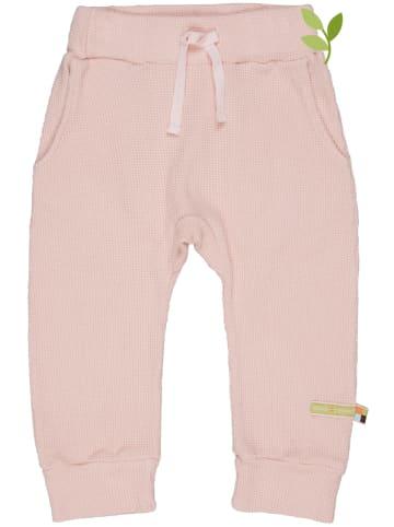 Loud + proud Spodnie w kolorze jasnoróżowym