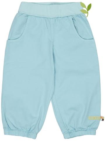 Loud + proud Spodnie w kolorze błękitnym