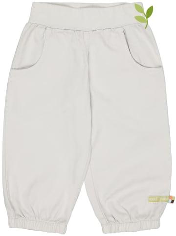 Loud + proud Spodnie w kolorze szarym