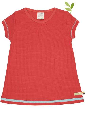 Loud + proud Sukienka w kolorze czerwonym
