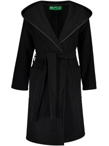 Benetton Wollen mantel zwart
