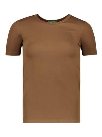 Benetton Koszulka w kolorze brązowym