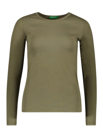 Benetton Koszulka w kolorze khaki