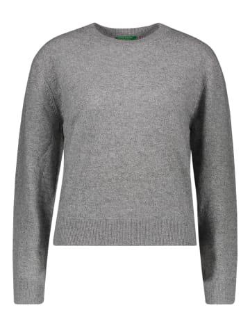 Benetton Wollpullover in Grau