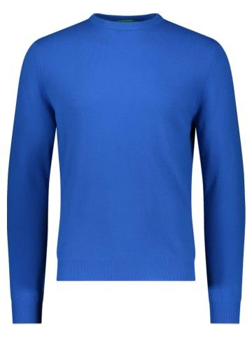 Benetton Wollen trui blauw