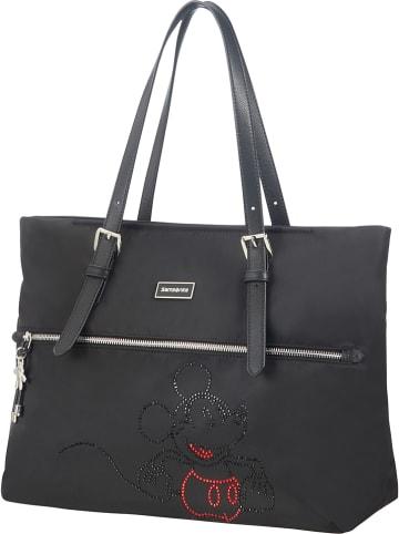 "Samsonite Shopper bag ""Disney"" w kolorze czarnym - 38 x 33 x 15 cm"