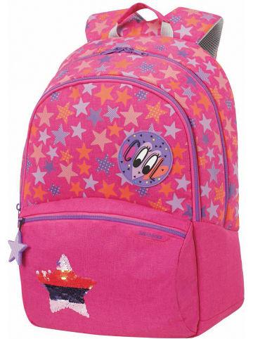 """Samsonite Plecak """"Stars"""" w kolorze różowym - 31 x 42 x 18 cm"""