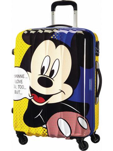 """American Tourister Walizka """"Mickey Pop"""" ze wzorem - 45,5 x 65 x 27,5 cm"""